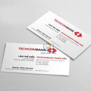 In ấn card Visit 18