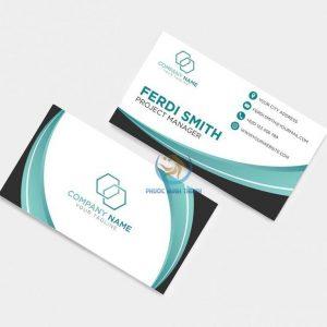 In ấn card Visit 17