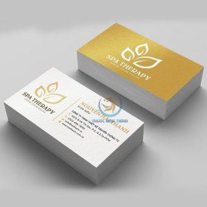 In ấn card Visit 16