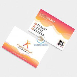 In ấn card Visit 11